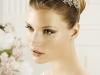 Diademas para novias: Pronovias ancha con flores