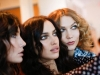 Diane Von Furstenberg fiesta disco en NYFW: Irina Shayk, Karlie Klossy Lily Aldridge