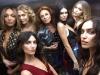 Diane Von Furstenberg fiesta disco en NYFW: la diseñadora con las modelos en un ascensor