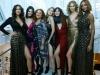 Diane Von Furstenberg fiesta disco en NYFW: la diseñadora con las modelos