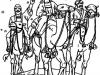Reyes Magos con sus camellos
