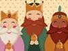 Dibujos de los Reyes Magos para colorear: Bonitos
