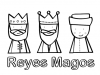Reyes Magos: caras