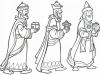 Reyes Magos con regalos