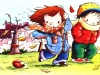 Dibujos de otoño para colorear: Para los peques