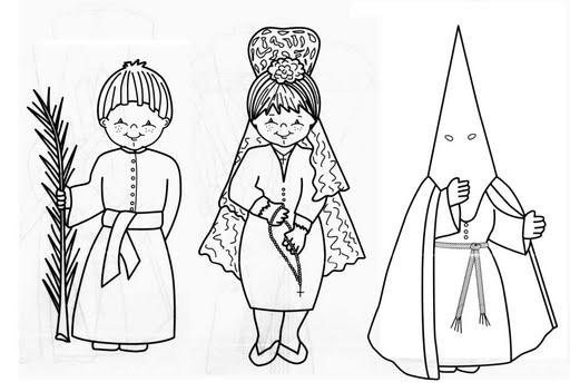 Dibujos Para Colorear De Semana Santa Los Mas Bonitos