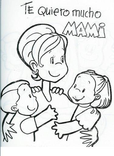 Dibujos para colorear para el Día de la madre: Los mejores