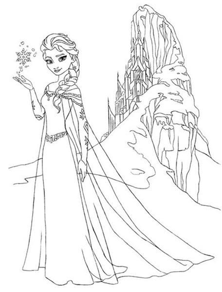 Dibujos para colorear Frozen: Los mejores [FOTOS] - Mujeralia