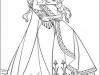 Dibujos para colorear Frozen Elsa y Anna abrazadas