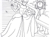 Dibujos Colorear Princesas Disney: Cenicienta