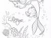 Dibujos Colorear Princesas Disney: La Sirenita