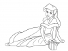 Dibujos Colorear Princesas Disney: Rapunzel