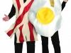 Disfraces de Carnaval en pareja: huevo y bacon
