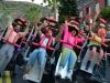 Disfraces de Carnaval para grupos: montaña rusa