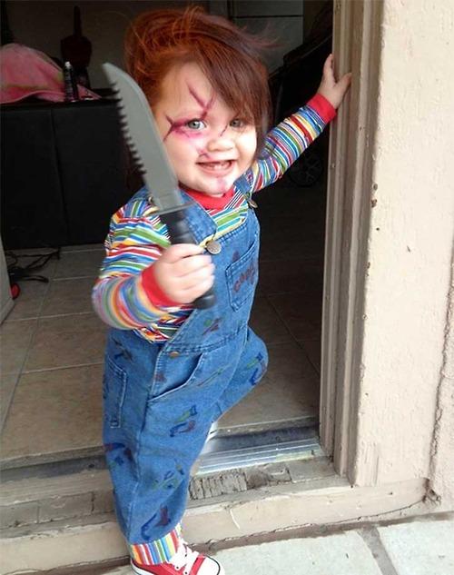 Disfraces de Halloween para bebs Originales y terrorficos