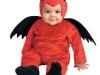 Disfraces de Halloween para bebés: diablo rojo y negro