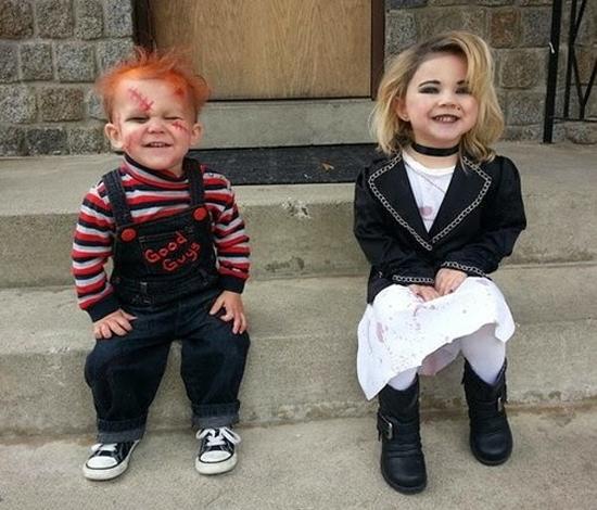 Disfraces de Halloween para familias Los ms terrorficos FOTOS