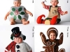 Disfraces de Navidad para bebés: algunos diseños