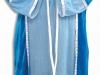 Disfraz de Virgen María: Varios azules