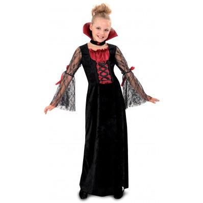 Disfraces de vampiros para toda la familia: vampiresa niña