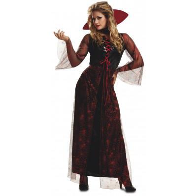 Disfraces de vampiros para toda la familia: vampiresa roja