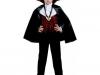 Disfraces de vampiros para toda la familia: Conde Drácula niño