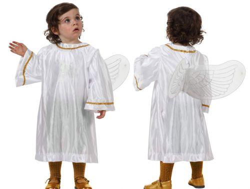 Disfraz de ngel para ni o casero el paso a paso - Disfraz de angel nino ...