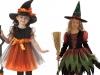 Disfraz de bruja para niña casero: Dos modelos