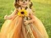 Disfraz de calabaza para bebés: De tul