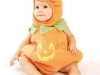 Disfraz de calabaza para bebés: Un modelo