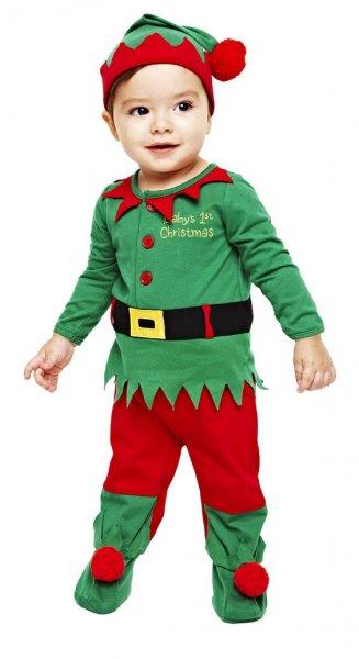 Disfraz de duende de navidad para ni o c mo hacerlo paso - Traje de duende para nino ...