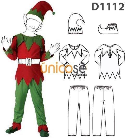 Disfraz de duende de navidad para ni o c mo hacerlo paso - Disfraz elfo nino ...