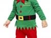 Disfraz de duende de Navidad para niño: bonito