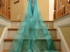 Disfraz de Elsa Frozen casero: cola del vestido
