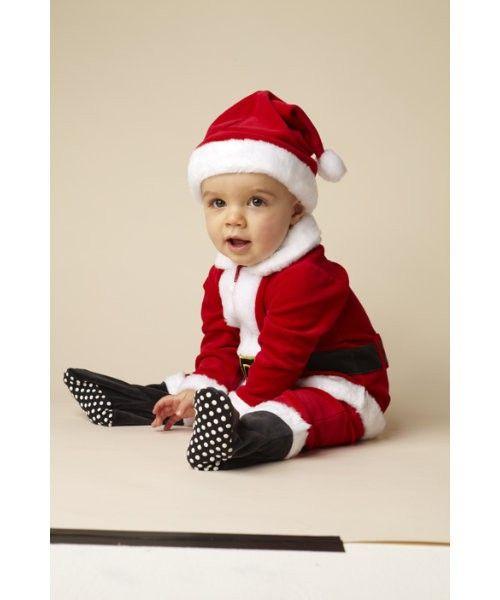 disfraz de pap noel para beb