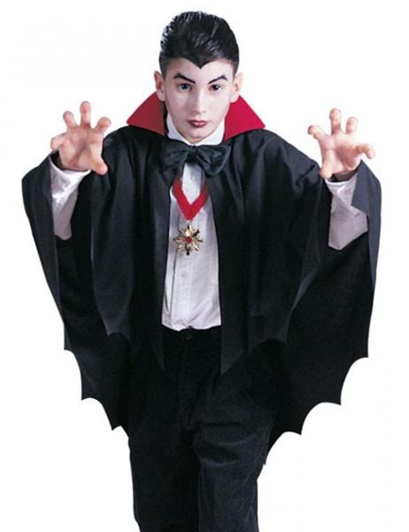 Disfraz de vampiro para ni o casero paso a paso fotos y v deo mujeralia - Murcielago en casa significado ...