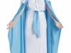 Disfraz de Virgen María: Cinto azul