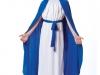 Disfraz de Virgen María: Capa azul klein