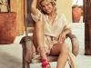Elsa Pataky para Gioseppo campaña PV 2017: sandalias con borlas