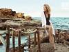 Elsa Pataky para Gioseppo campaña PV 2017: sandalias planas