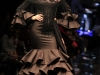 Eva González desfile en SIMOF 2016: vestido negro