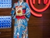 Eva González looks MasterChef Junior 3: japonesa
