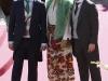 Jordi Cruz y Pepe Rodríguez con Samantha Vallejo Nágera