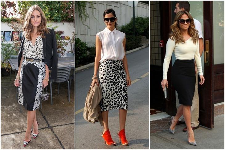 988f3e626 Cómo llevar falda tubo  tendencia elegante y chic  FOTOS  - Mujeralia