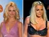 Famosas operadas de senos Antes y después Britney Spears
