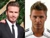 Famosos con barba y sin barba: David Beckham