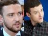 Famosos con barba y sin barba: Justin Timberlake