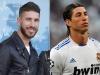 Famosos con barba y sin barba: Sergio Ramos