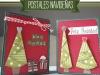 Felicitaciones de Navidad caseras: Árbol de Navidad