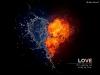Fotos de San Valentín: corazón de hilo y fuego